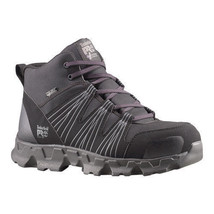 Timberland PRO Men's Powertrain Mid Alloy Safety Toe ESD Black Synthetic... - $118.79