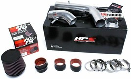 HPS Cold Air Intake Kit Cool Long Polish for 02-06 Nissan Altima 2.5L 4Cyl - $197.01