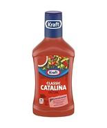 Kraft Classic Catalina Dressing, 16 fl oz Bottle - $8.84