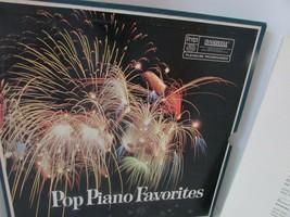 POP PIANO FAVORITES READERS DIGEST RCA 4 RECORD SET   L114E - £6.39 GBP