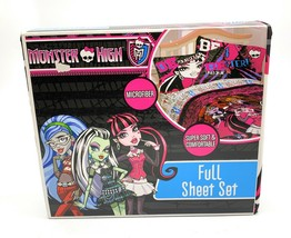 Monster High Freaky High Full Microfiber Sheet Set - $39.59