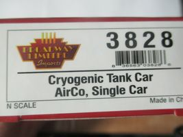 Broadway Limited # 3828 AirCo Cryogenic Tank Car # ULTX 80011 N-Scale image 5