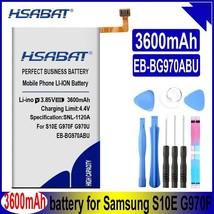 Hsabat EB-BG970ABU 3600mAh Battery For Samsung Galaxy S10e S10E S10 E S10 SM-G97 - $22.78
