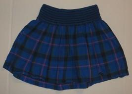 Abercrombie Kids Blue Pink Plaid Skirt Size M Medium - $13.99