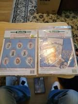 Bucilla 82828 Angel Christmas Stocking & 82845 Heavenly Angels ornaments  - $20.57