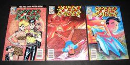 3 1987-1988 NOW Comics SPEED RACER Comic Books #18, 19, 20 - $11.99
