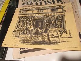 "Rx , Pharmacy , Circa 1860 , Pfizer Labs , Print / Poster , 16"" X 12"" - $24.91"