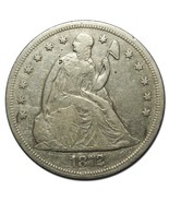1872 $1 Seated Dollar Silver Coin Lot# EA 203 - €287,75 EUR