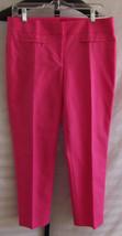 NWT Ann Taylor Loft Marisa Skinny Cotton Blend Pink Casual Pants Misses ... - $36.63