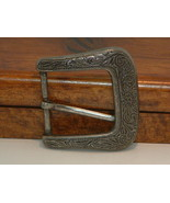 Pre-Owned Women's Engraved  Paisley Design Belt Buckle - $11.88