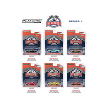 Ford GT Racing Heritage Series 1, 6pc Set 1/64 Diecast Model Cars by Greenlight  - $46.47