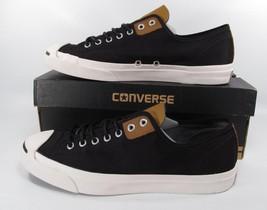 Converse Jack Purcell JP LTT OX Low Top Sneaker BLACK/DESERT 144389C - $59.50