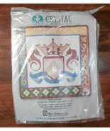 Camelot Needlepoint Kit Alice Peterson Crystal Cruises Pillow Top - $33.85