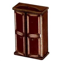 28mm Furniture: Medium Wood Wardrobe (A)