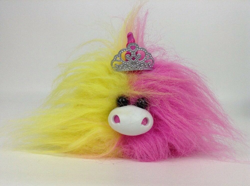 Kachooz! Interactive Talking Toy Fluffy Unicorn Doll with Batteries MGA