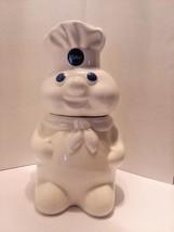 "Vintage 1988 Pillsbury Dough Boy Cookie Jar 12"" Pillsbury Company - $24.74"