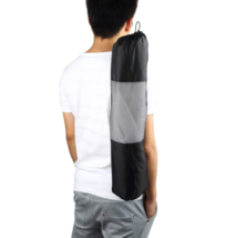 Mochila Yoga Sports Bags Portable Yoga Mat Bag Polyester Nylon Mesh Black - $118,56 MXN