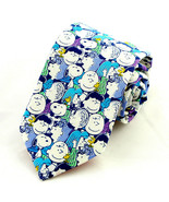 Peanuts Gang Men's Necktie Official Licensed Snoopy Charlie Brown Blue N... - $29.35