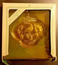 Hallmark Keepsake Ornament 12 Days of Christmas Acrylic 1984 1st in Seri... - $123.75