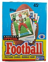 1989 Topps Official Football Wax Box 36 Unopened Packs From A Sealed Cas... - $69.74