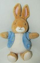 Peter Rabbit Plush Classic Kids preferred blue jacket thermal pink ears ... - $17.81
