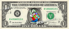 HAPPY EASTER Bunny - Real Dollar Bill Rabbit Cash Money Collectible Memo... - $8.88