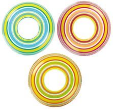 "Lot of 3 Intex 36"" Spiral Tube Orange~Pink~Green Brand New"