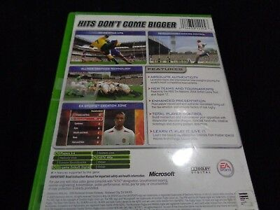 Rugby 2005 Microsoft Xbox Video Game EA