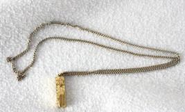 Jewish Star of David  Chai Mezuzah Pendant Necklace 12K Gold Filled - $9.40