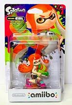 Nintendo Inkling Girl Amiibo (Splatoon Series) ~ NEW - $16.94