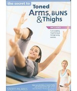 Stott Pilates The Secret to Toned Arms, Buns Thighs DVD Strength Workout... - $12.31