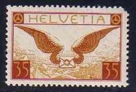 SWITZERLAND 1933  # C13a  MNH CV $100++  4214-RD-A1 - $25.74