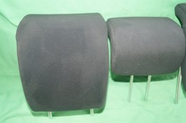 10-14 Honda Insight Rear Seat Cloth Headrests Head Rests Set image 2