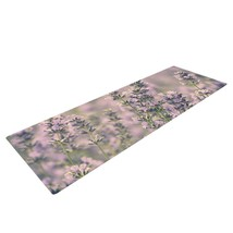 KESS InHouse Yoga Mat Robin Dickinson Smell the Flowers Lavender  MSRP 99. - $48.82