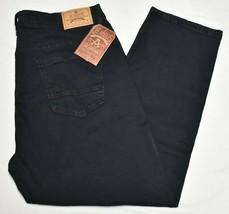 Akademiks Jeans Men's 44x32 Scope Stretch Denim Noir Wash Black Streetwe... - $36.95