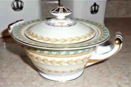 Noritake Fine China Raphael 3730 Pattern Sugar Bowl & Lid EUC - $34.64