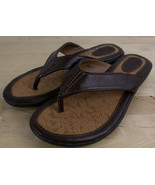 BOC Born Brown Thong Sandals BC6527 Women's Size 8 M Flip Flops - $18.99