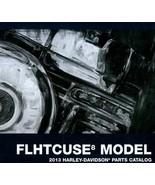 2013 Harley Davidson FLHTCUSE8 Models Parts Catalog Manual Book 2013 NEW - $108.89