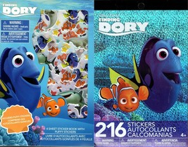Disney Pixar Finding Dory - Includes Puffy Stickers 216 Sticker Book (Set of 2) - $12.86