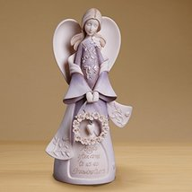 "Enesco 4014325 Foundations Grandmother Angel Stone Resin Figurine, 7.5"" - $31.19"