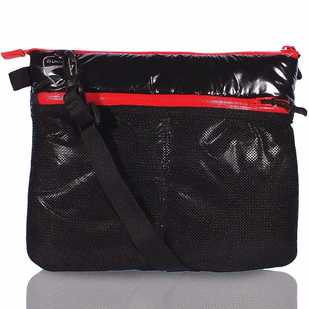 New iSkin Ducati Men's Women's 3 Degree Tablet Sleeve Bag Purse DC3DGR-BK