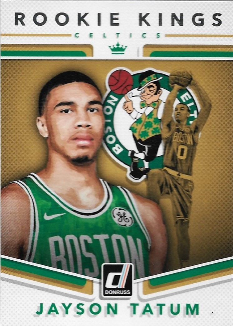 Primary image for Jayson Tatum Donruss 17-18 #3 Rookie Kings Boston Celtics
