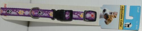 Ruffin It 39441 Adjustable Dog Collar Purple Small Size 10 16 Nylon Package 1