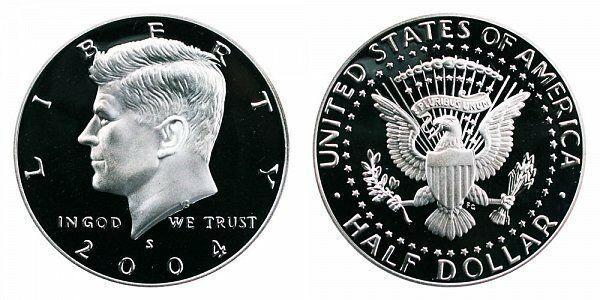 2003 S Proof Kennedy Half Dollar CP2042