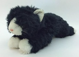 "1989 Ty Cat Sherlock Plush Retired 1110 Black White Belly Tail Tip 20"" H... - $89.09"
