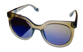 Converse Grey Womens Sunglass Round Plastic, Flash Lens H107 - $22.49