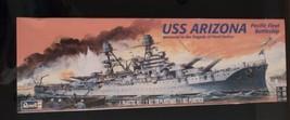2017 Revell   USS Arizona Pacific Fleet Battleship 1:426 Model Ship New, Sealed - $14.80