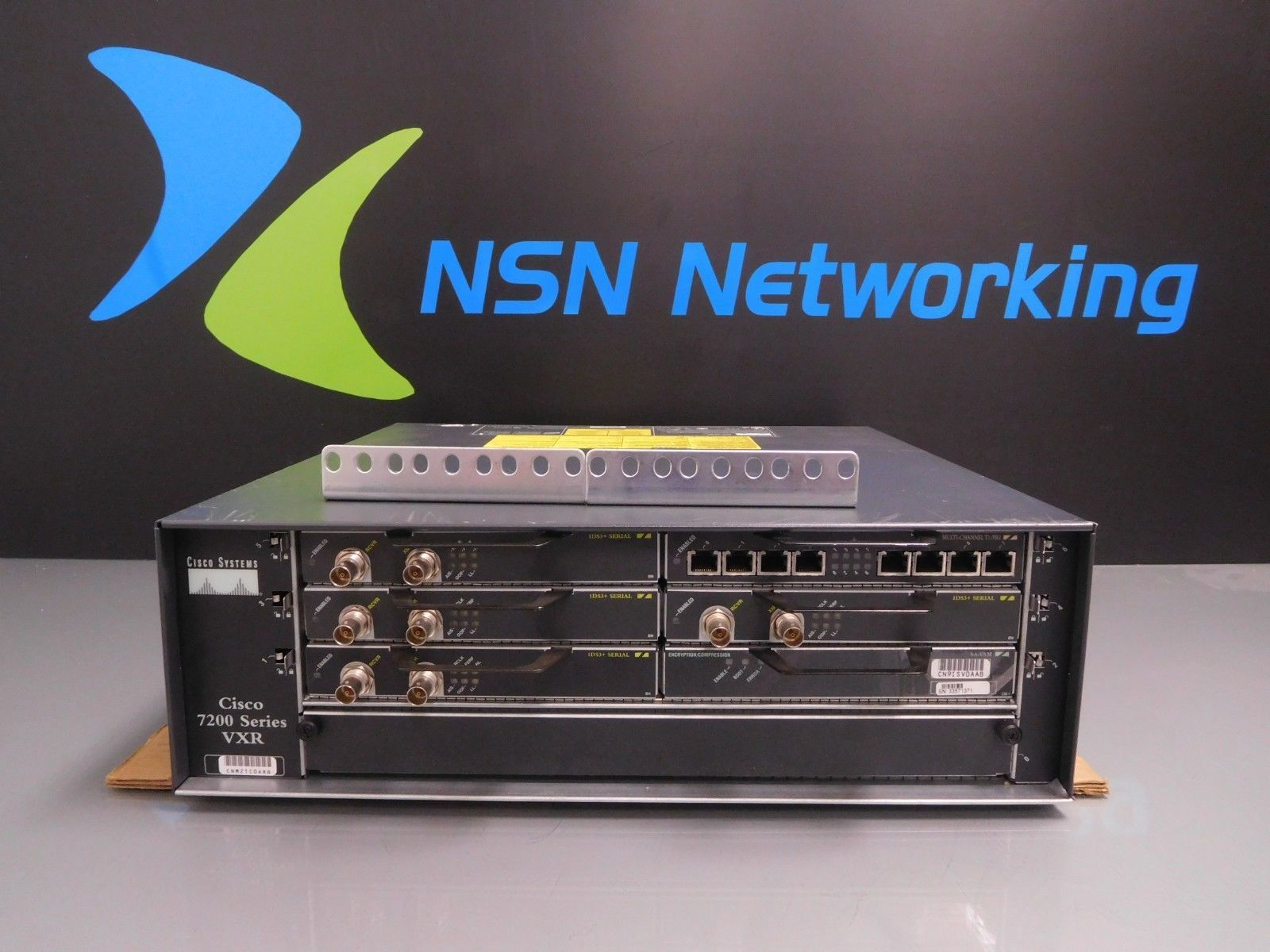 Cisco 7200 Vxr 7206VXR Router w/ NPE-G1 and 50 similar items