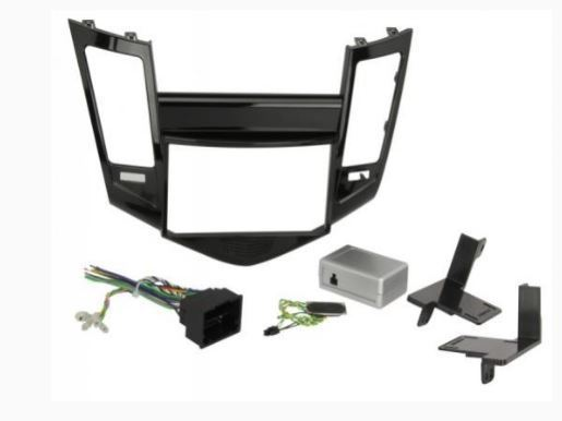 NEW SCOSCHE GM5202AB SINGLE/DOUBLE DIN COMPLETE DASH INSTALLATION KIT 2011 2014