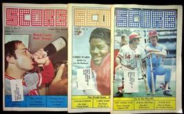 Score Magazine Lot Of 3 Inside Ohio Sports Vol.1 No. 2 + 3 + 4 Johnny Be... - $17.05